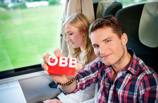 gemütlich mit dem Zug fahren