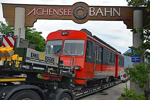 Achenseebahn: Elektrotriebwagen aus der Schweiz