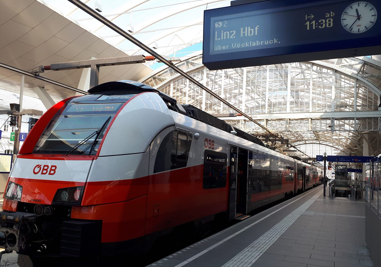 Zug nach Triest